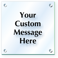 Add Your Message Custom ClearBoss Sign