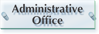Administrative Office ClearBoss Sign