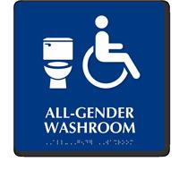 ISA All-Gender Washroom Sintra Sign