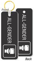 All-Gender Restroom Key Tag