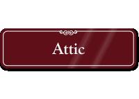 Attic ShowCase Wall Sign