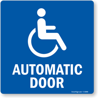 Automatic Door (With SEGD Symbol)