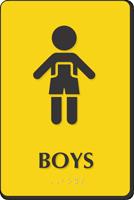 Boys Restroom Sign