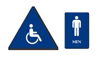 Accessible Pictogram Men Sign
