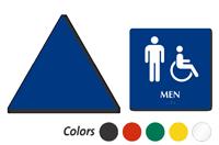 Accessible Men Pictogram Sign