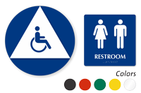 ISA Women Men Pictograms Sign