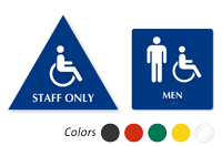 Accessible Pictogram & Men Pictogram