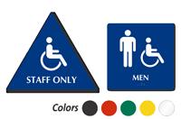 Accessible Pictogram & Men Pictogram