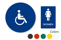 Accessible Pictogram Women Sign