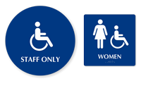 Accessible Pictogram & Women Pictogram