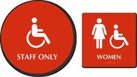 Accessible Pictogram & Women Pictogram
