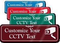 CCTV Symbol Sign