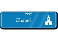 Chapel Church Showcase Hospital Sign
