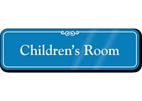 Children's Room Showcase Hospital Sign