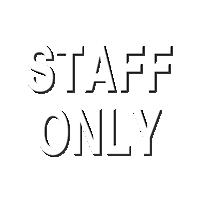 Staff Sign
