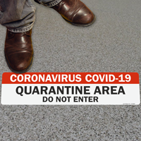 Coronavirus COVID-19Quarantine Area