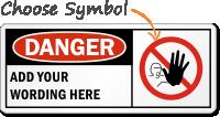 Danger:ADD YOUR WORDING HERE