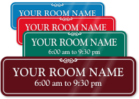 Personalized Your Room Name Sign