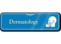 Dermatology Hospital Showcase Sign