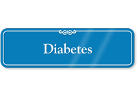 Diabetes Showcase Hospital Sign