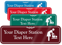 Diaper Station Symbol Sign
