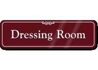 Dressing Room Sign