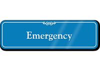 Emergency Showcase Hospital Sign