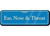 Ear, Nose & Throat Showcase Hospital Sign