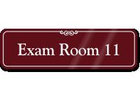 Exam Room 11 ShowCase Wall Sign