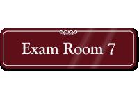 Exam Room 7 ShowCase Wall Sign