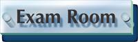 Exam Room ClearBoss Sign
