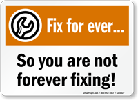 Fix For Ever So You Are Not Sign
