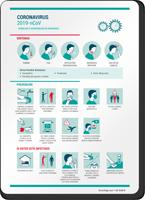 Flu Safety Advice Tips Symptoms Prevention Spanish Sign