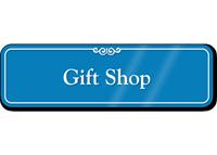 Gift Shop Showcase Hospital Sign