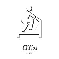 Gymnasium Sign