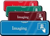 Imaging X-Ray Showcase Hospital Sign