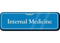 Internal Medicine Showcase Hospital Sign
