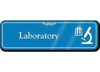 Laboratory Hospital Showcase Sign