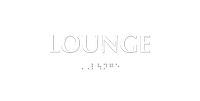 TactileTouch™ Lounge Sign with Braille
