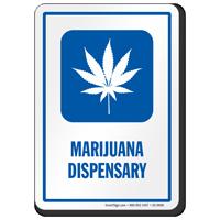 Marijuana Dispensary Hospital Sign