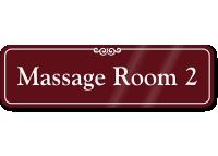 Massage Room 2 ShowCase Wall Sign