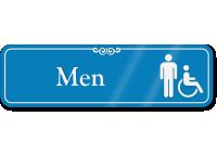 Men ADA Sign