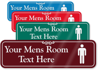 Mens Room Symbol Sign