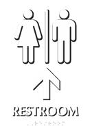 Men & Women Pictograms With Up Arrow