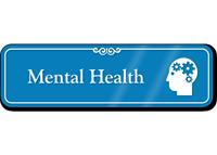 Mental Health Hospital Showcase Sign