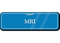 MRI Showcase Hospital Sign
