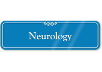 Neurology Showcase Hospital Sign