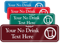 No Drink Symbol Sign