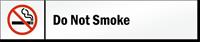 Do Not Smoke Stacking Magnetic Door Sign