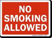 No Smoking Allowed